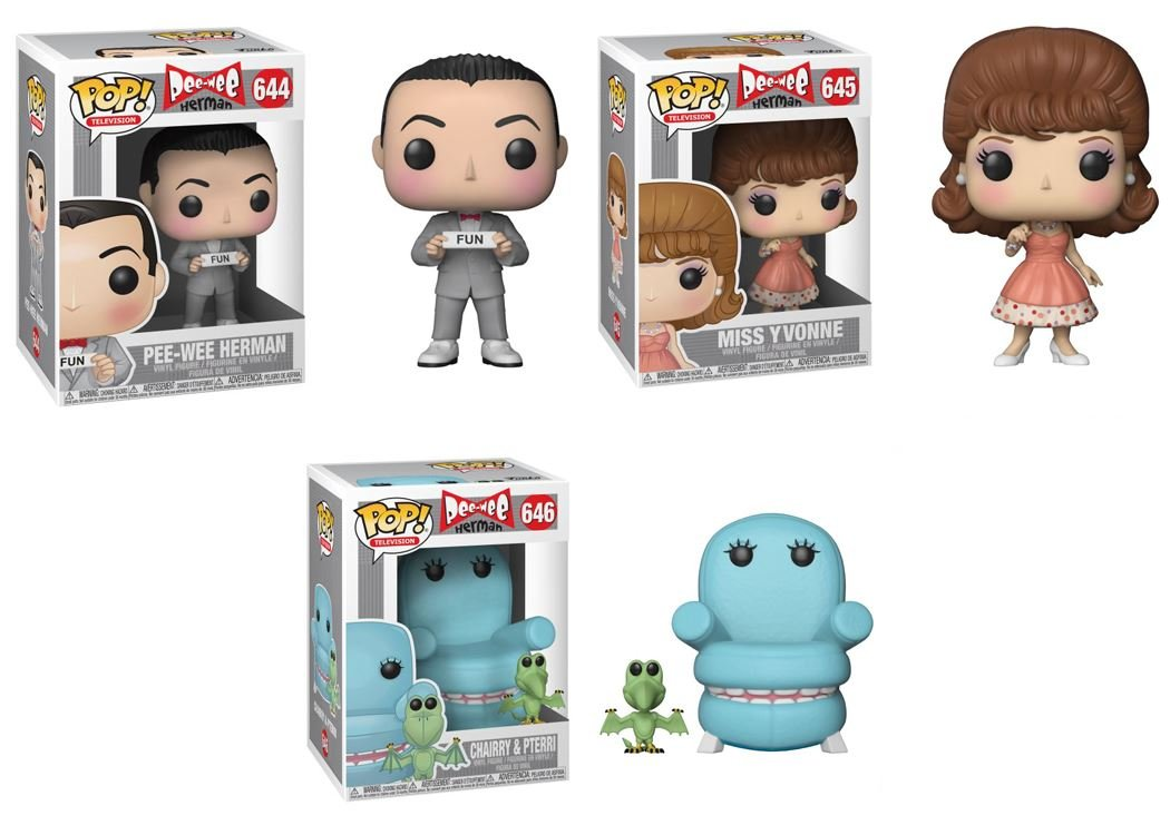 Amazon.com: Funko Pop! TV: Pee-Wee Herman Collectible Vinyl ...