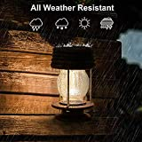 Hanging Solar Lights Outdoor - 2 Pack Solar Powered