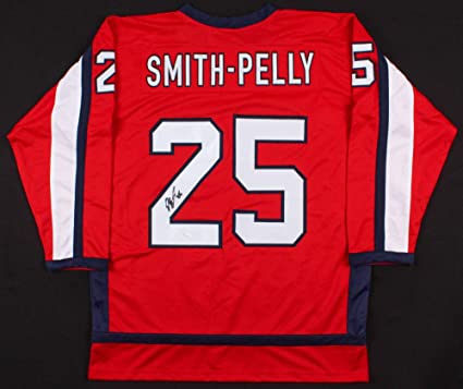 Devante Smith-Pelly Autographed Signed Washington Capitals Jersey ... 48451059f75