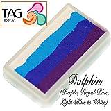 TAG Face Paint 1-Stroke Split Cake - Dolphin (30g)