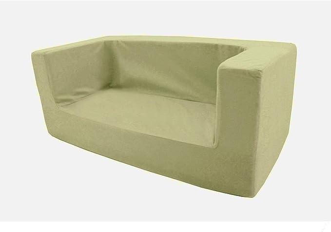 EMOZIONI Bettw/äsche-Set f/ür Kinderbett 100/% Baumwolle Baby-Linie beige hypoallergen