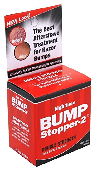 Bump stopper razor