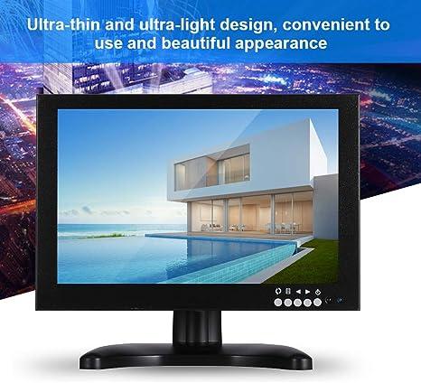 ASHATA Pantalla Táctil IPS, Monitor LCD Táctil IPS Portátil, Pantalla de Alto Contraste, Monitor Pantalla LCD, Portable Monitor (10.1 Pulgada, 1280 * 800)(EU Plug): Amazon.es: Electrónica