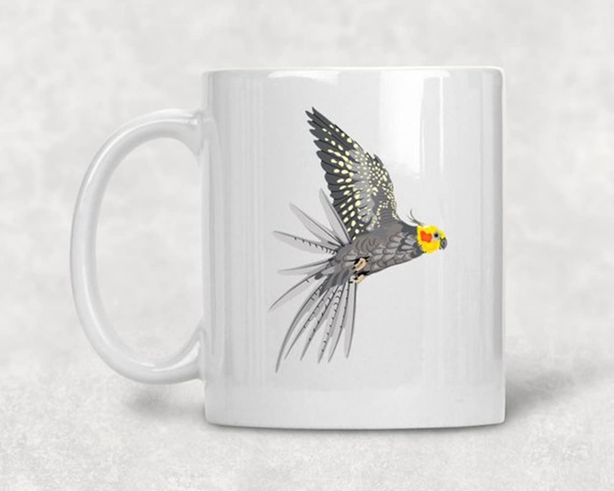 Amazon Com Alicehitmood Cockateil Mug Parrot Gift Cockateil Gift Pet Parrot Companion Bird Pets Parrots Ceramic Coffee Mug Cup 11oz Kitchen Dining