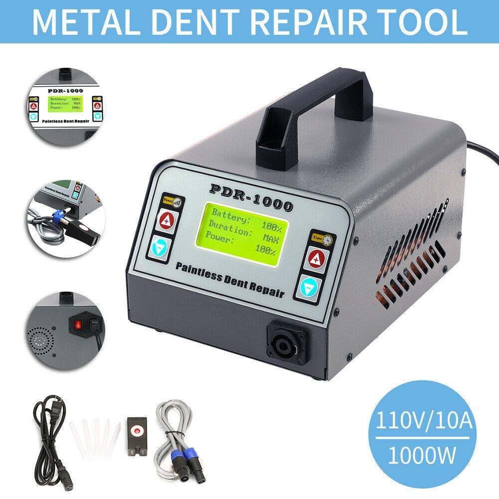 110V 1000W 10A Induction PDR Heater Machine Hot Box Car Removing Paintless Dent Repair Tool