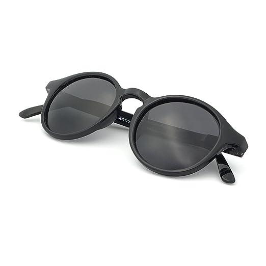 9db01ee28dd5 Amazon.com: J+S Hali Retro Round Cat Eyes Sunglasses, Polarized, 100 ...