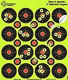 Splatterburst Targets – 2 inch Adhesive Stick & Splatter Reactive Shooting Targets – Gun – Rifle – Pistol – Airsoft – BB Gun – Pellet Gun – Air Rifle (10 Pack)