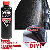 Roll / Brush On - Paint Protection Film - REMOVABLE - Thicker than a Wrap - Clear Bra - Car Wrap - Paint Chip Protection - Rock Scratch Protection - PaintArmorDIY PINT BLACK