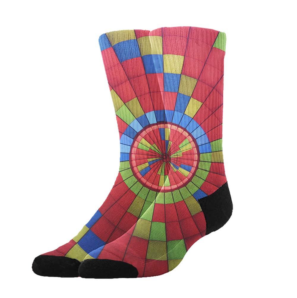 d733de914 Amazon.com  KYWYN Unisex Colors Rainbow Cozy Cotton Athletic Crew ...