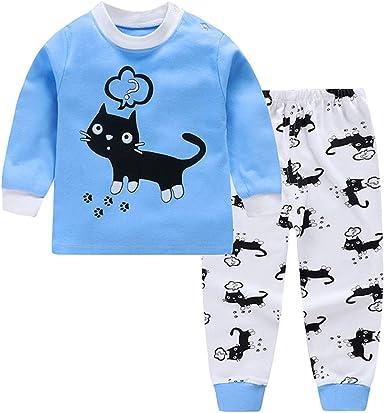 Goyajun Conjunto de Pijamas para bebés, Pijamas de algodón ...