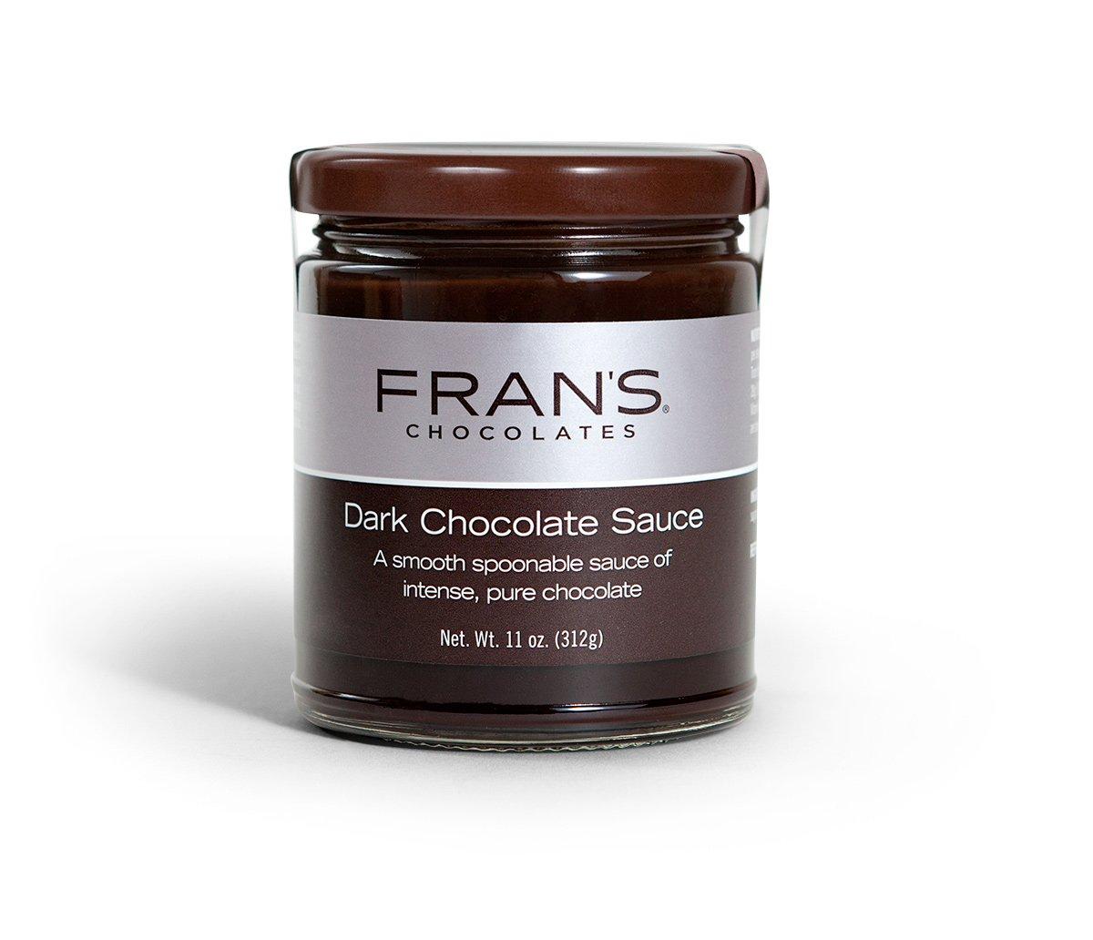Fran's Dark Chocolate Sauce, 11 oz