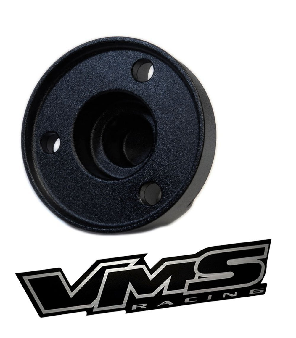 VMS Racing Antenna HOUSING BASE COVER in BLACK Billet Aluminum for Jeep Wrangler JK Sahara Sport Rubicon Unlimited Freedom Fifty 2007 2008 2009 2010 2011 2012 2013 2014 2015 2016