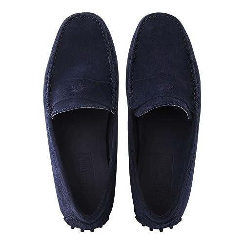 Vilebrequin - Mocasines en Ante Suave de Color Liso para Hombre: Amazon.es: Zapatos y complementos