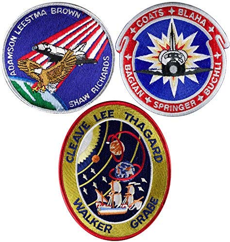 Patch Set Space Shuttle Mission STS-28 STS-29 STS-30 Official NASA
