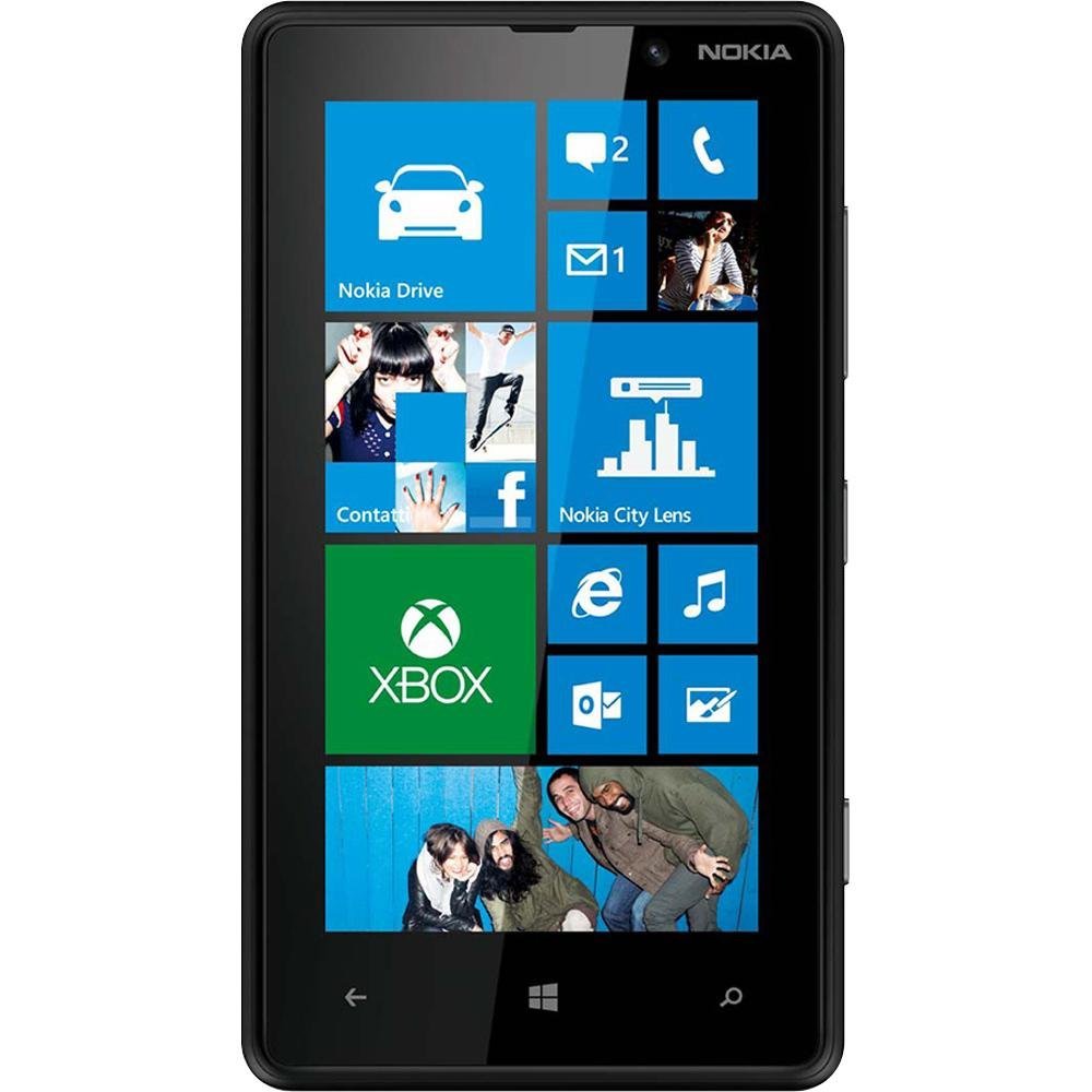 newest ba7f4 00eb4 Nokia Lumia 820 (Black)