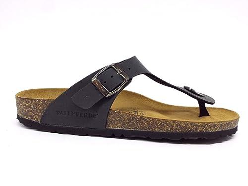 VALLEVERDE infradito sandali bio scarpe uomo in pelle