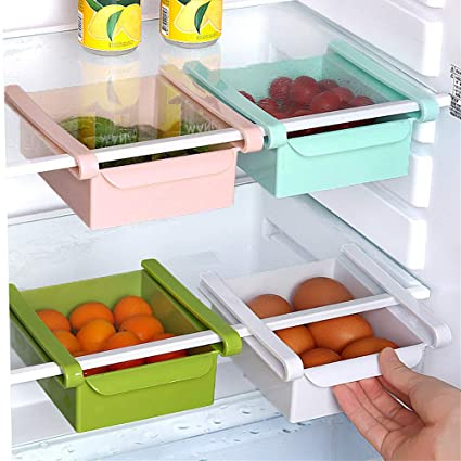 bloatboy ✅ Cajón con Pinza para frigorífico, Transparente, cajón ...
