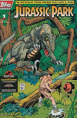 Jurassic Park #1 FN ; Topps comic book