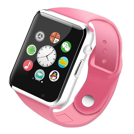 reloj inteligente adulto SIM Llamada de teléfono celular Bluetooth Podómetro cumpleaños presente Supervisión del sueño A1