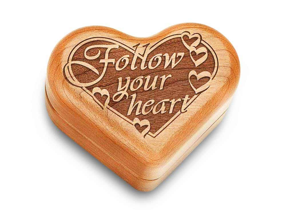 Music Box 3'' Heart - Follow Your Heart - Fur Elise