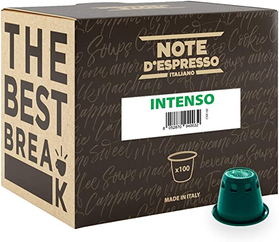 Note DEspresso Cápsulas de Café Intenso exclusivamente ...