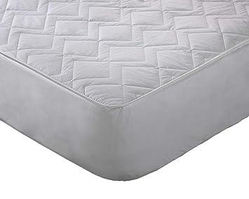 Orginal Sleep Company Protector de colchón Acolchado de Lana Australiana Pura 38 cm de Profundidad: Amazon.es: Hogar