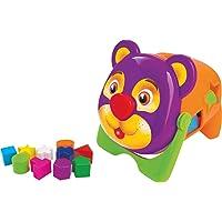 Brinquedo Educativo Urso Tomy com Blocos Merco Toys