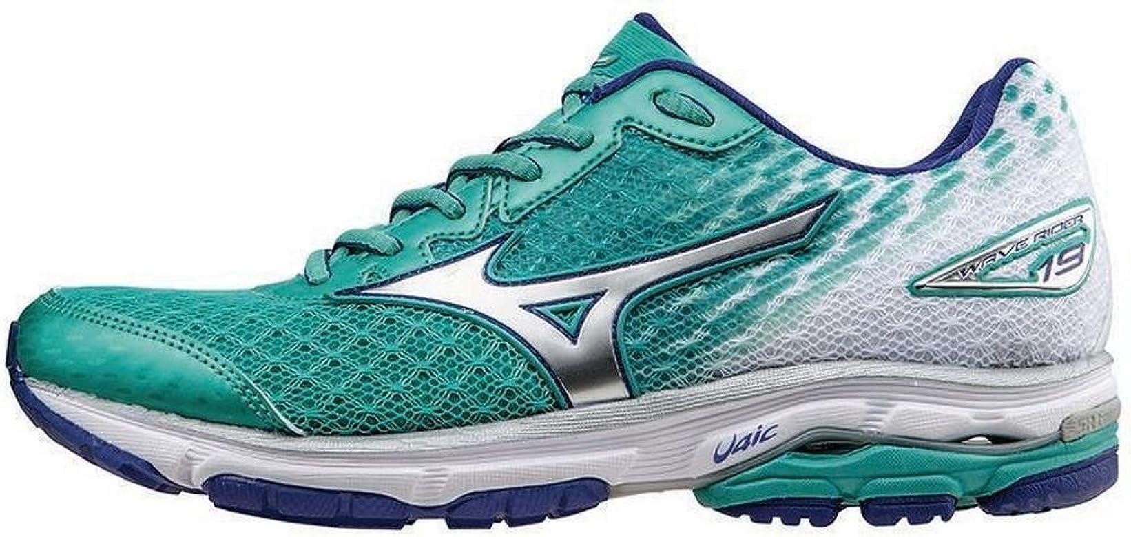 Mizuno Wave Rider 19 Womens Zapatillas para Correr - SS16-42: Amazon.es: Zapatos y complementos