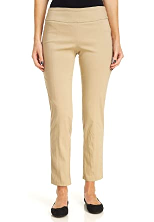 cfa4558bcade0 Zac   Rachel Women s Millenium Pull On Pants at Amazon Women s Clothing  store