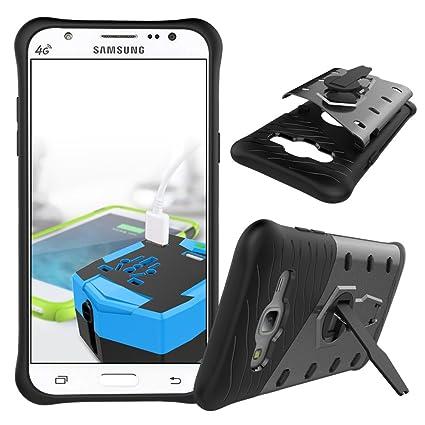 the best attitude 4f523 6498d Amazon.com: Samsung Galaxy J5 Shockproof Cover, Galaxy J5 Hybrid ...
