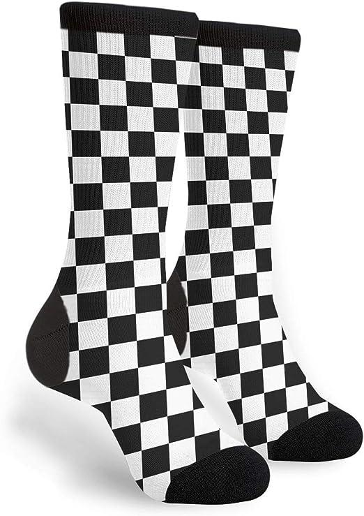 K.Bell Food Trucks Ladies Crew Black Cotton Blend Socks New