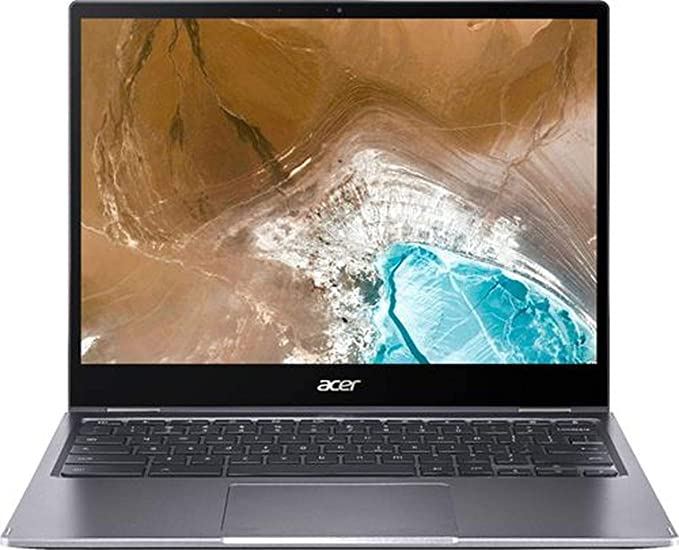 "2020 Acer Chromebook Spin 713 13.5"" 2K Touchscreen 2-in-1 Laptop Computer, 10th Gen Intel Quard-Core i5-10210U, 8GB DDR4 RAM, 128GB PCIe SSD, Chrome OS, BROAGE 16GB Flash Stylus, Online Class Ready"