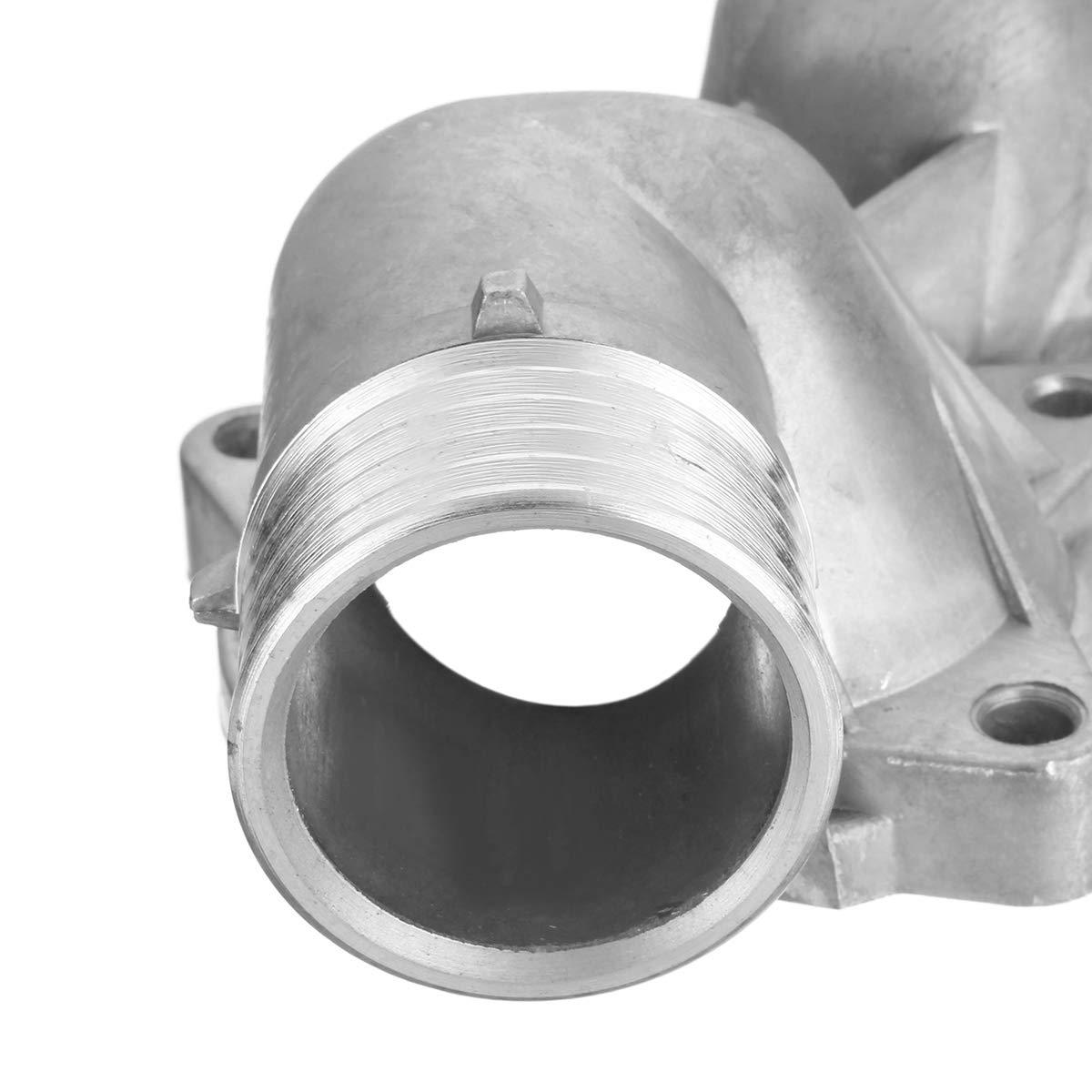 WOVELOT Automotive Aluminum Thermostat Housing For E39 528I 1997 1998 11531740478