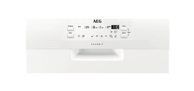 AEG FFB51400ZW Lavavajilla, Blanco: 354.14: Amazon.es: Grandes ...