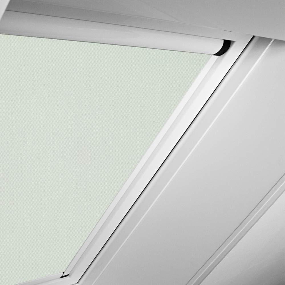 Roto Original Verdunkelungsrollo ZRVM für R75/R78, Fenstergröße 6/11 in der Stofffarbe 1-V02/hellbeige, WDF KAW KEW Rollo Rollos