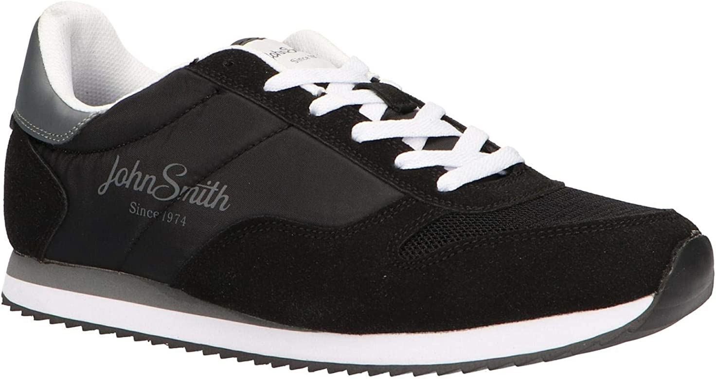 John Smith Zapatillas Veca Negro - 45: Amazon.es: Deportes y aire ...