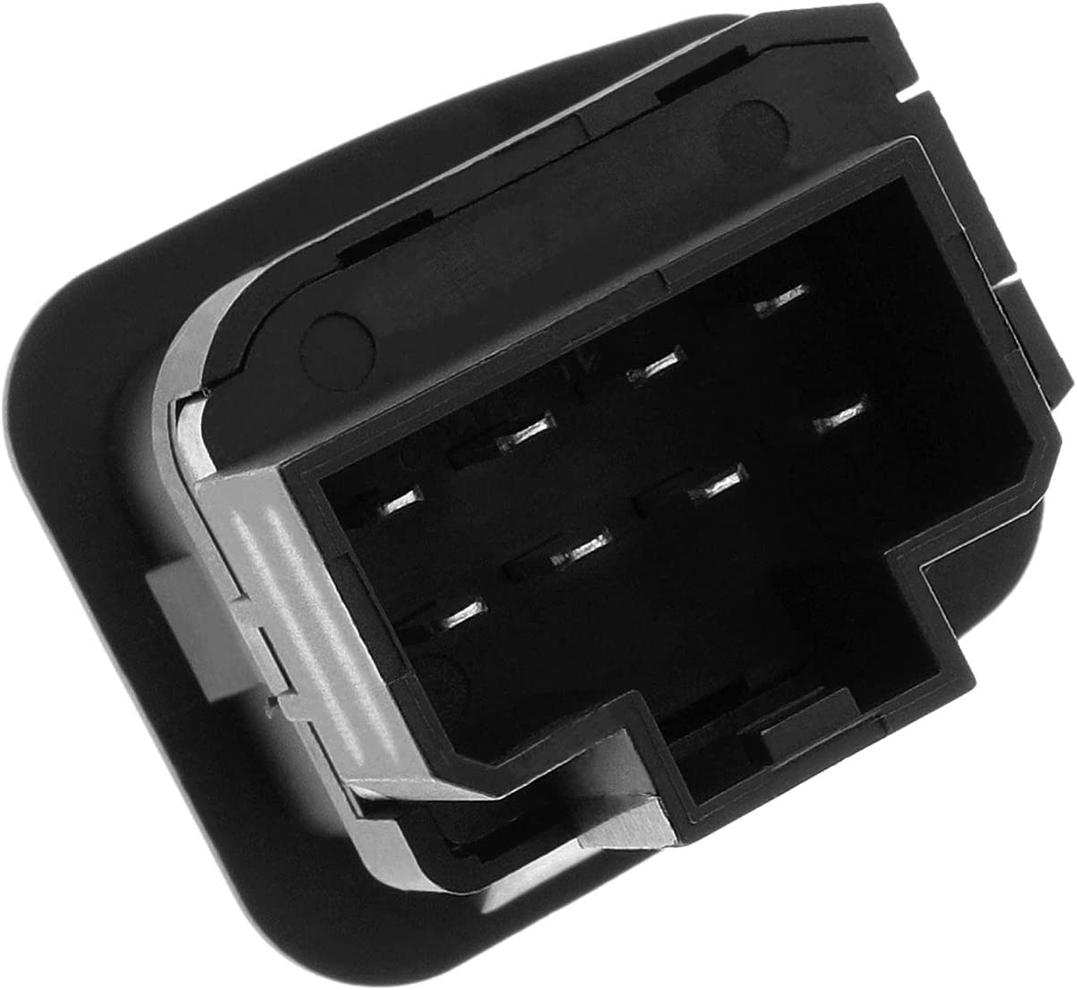 Bicos 901-319 Front Left Driver Side Electric Mirror Control Switch Compatible with Ford F150 F250 F350 F450 F550 Super Duty Escort Excursion Expedition Thunderbird Replacement# F65Z17B676AB SW6515