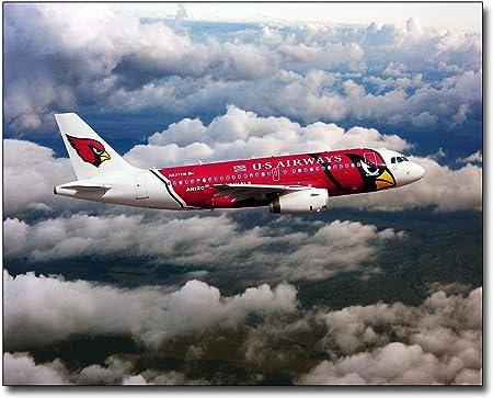 US AIRWAYS AIRBUS A319 IN FLIGHT 8x10 SILVER HALIDE PHOTO PRINT