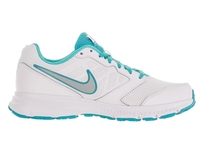 Amazon | Nike Womens Downshifter 6 White/Metallic Silver/Gmm Blue  Running Shoe 6 5 Women US | Road Running