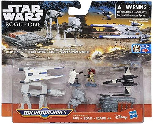 Star Wars Micro Machines - Star Wars Micro Machines Fight the Imperial Might (Star Wars: Rogue One) Pack