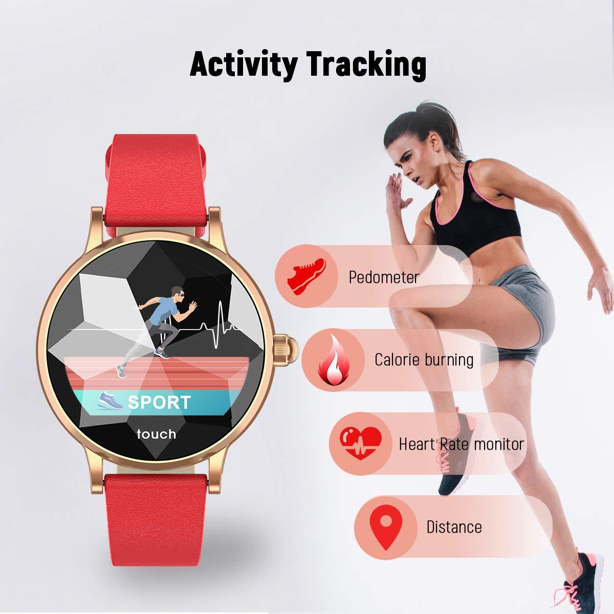 Hopofit Fitness Tracker HrBlutdruckmessbandSmartwatch Mit Hf01 I7ybYf6vg