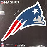 New England Patriots SD LOGO Design 12'' Magnet Heavy Duty Auto Home NFL Football