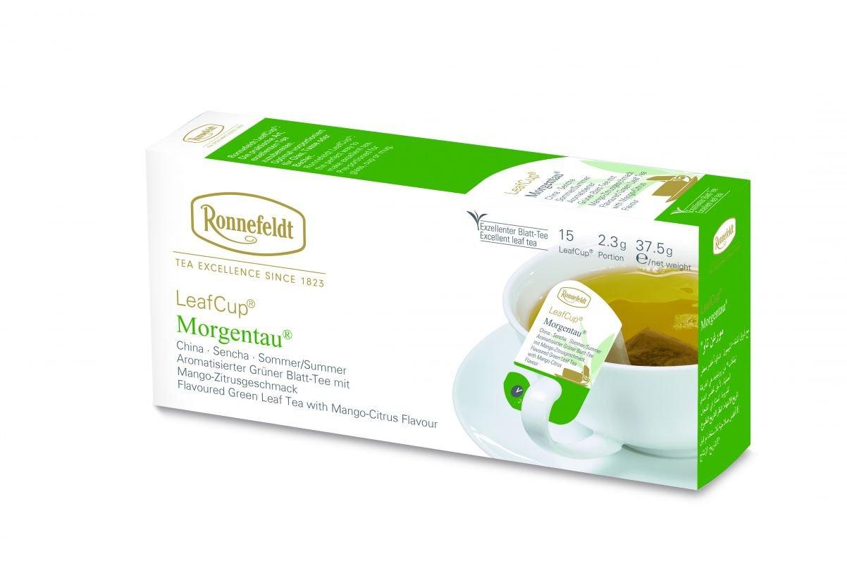 Ronnefeldt Morgentau Flavored Green Tea (LeafCup)