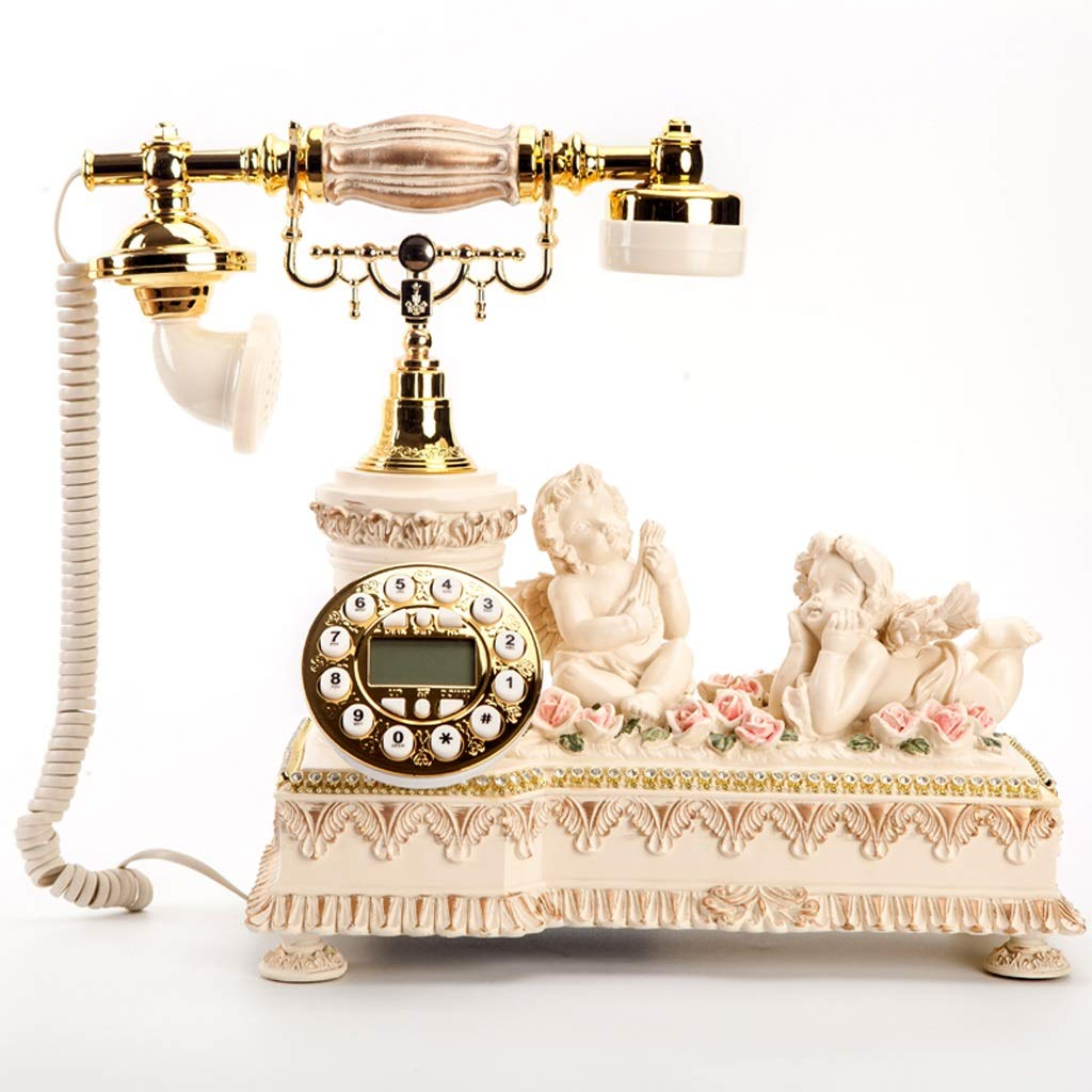 Bmwjrzd Retro Telephone, Wired Home Landline, Living Room, Antique Decorative Ornaments by Bmwjrzd
