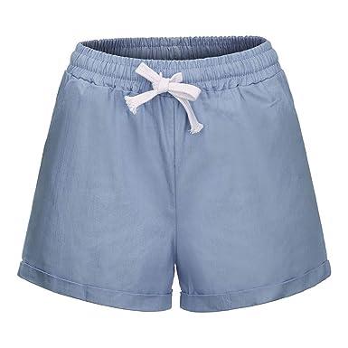 great prices arrives catch Kolylong_femme Shorts Femme Chic d'été 2019, Short Pantalon ...