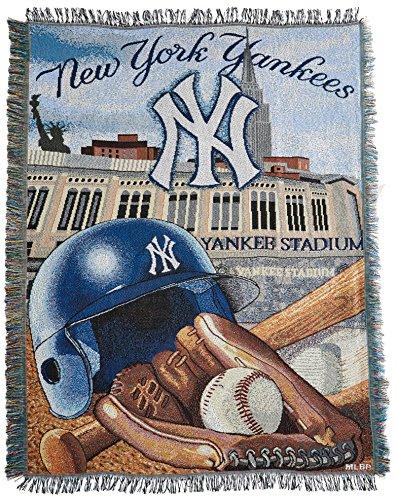Mlb Woven Tapestry Throw - Northwest New York Yankees MLB Woven Tapestry Throw (Home Field Advantage) (48x60) Nor2NYY-051HFA