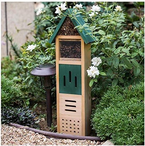 FTFDTMY Insektenhotel, Insekt Haus Automatische Entwurmung, Garten und Garten Obst und Gemüse Schutz, Geeignet for Popular Science Ecology Observation/Gastfamilie Dekoration