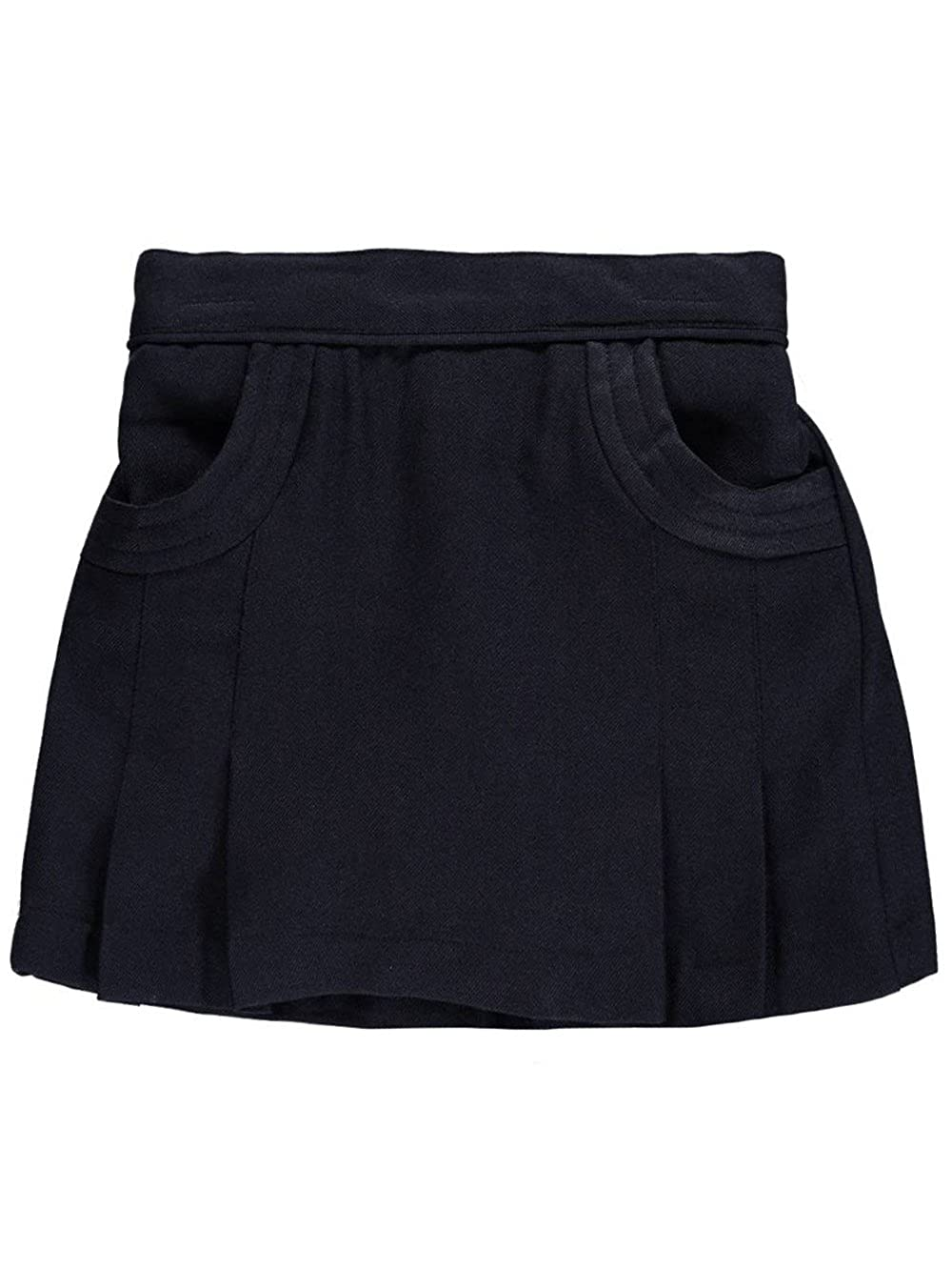 Nautica Little Girls' Stitched Pocket Scooter Skirt - navy, 5