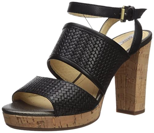 534ccb1a00b Geox D Mauvelle A, Sandalia con Pulsera para Mujer: Amazon.es: Zapatos y  complementos
