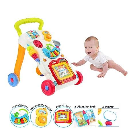 HBIAO Andadores para Bebes Trolley Multifuncional para niños ...
